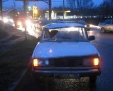 В Саранске «пятерка» сбила работника автозаправочной станции