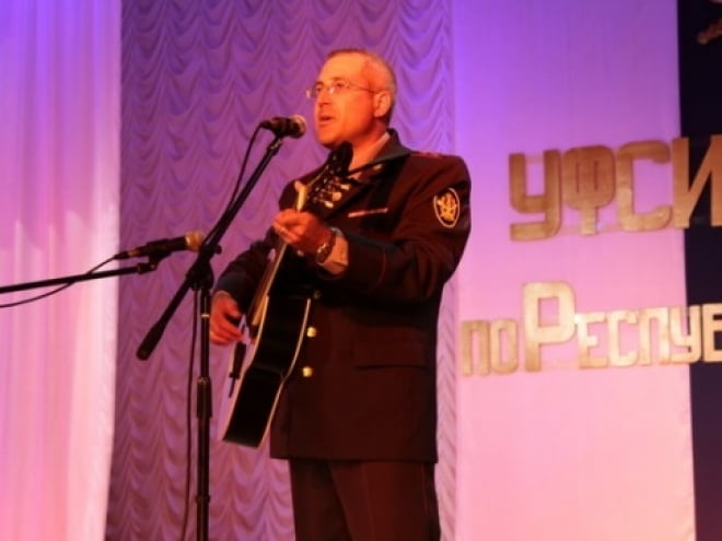 В УФСИН Мордовии прошел конкурс авторской песни