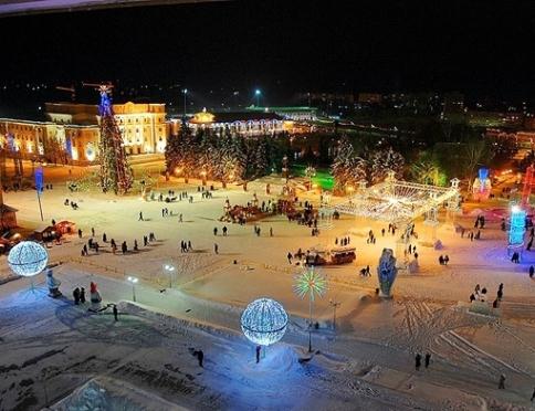 Праздничная программа в саранске на новый год