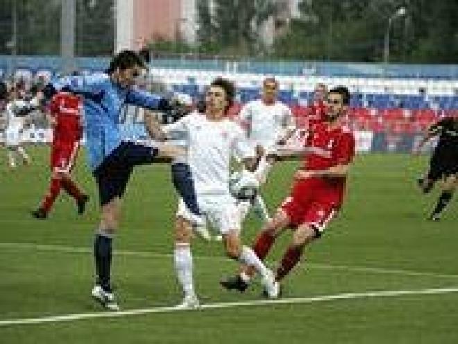 ФК «Мордовия» крупно проиграл на выезде