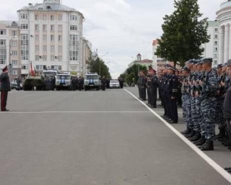 В Саранске полицейские покажут горожанам свой потенциал
