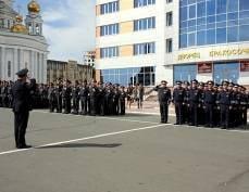 Сегодня полицейские строем пройдут по центру Саранска