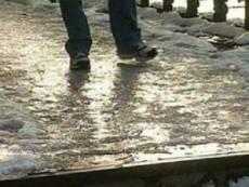 В Мордовии растаявший снег превратится в лед