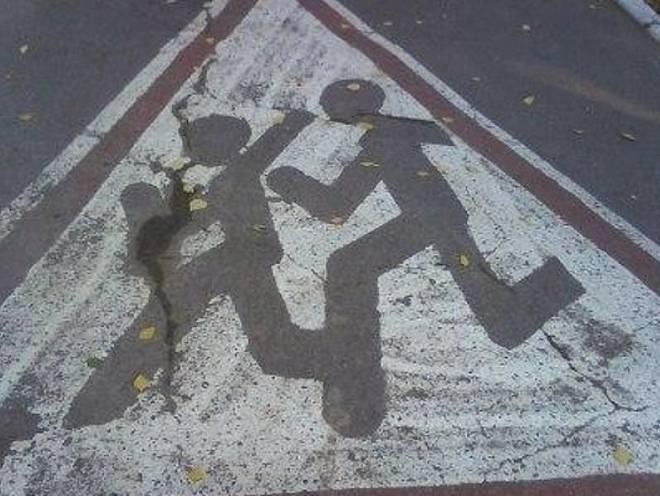В Саранске иномарка сбила перебегающего дорогу школьника