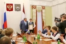 В Мордовии чествовали одарённых лицеистов