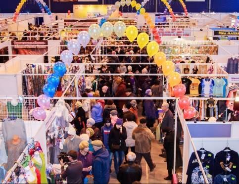 Народная ярмарка в Саранске: вкусные угощения и интересные подарки к 8 марта