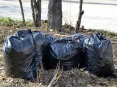 В Саранске запасаются мусорными мешками