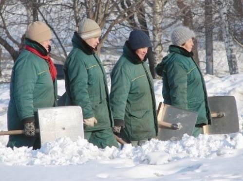 Мэр Саранска: уборка снега вручную – это позор