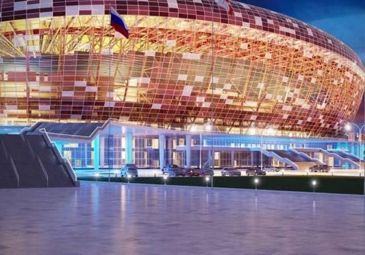 Жители России предложили более 200 названий для стадиона в Саранске