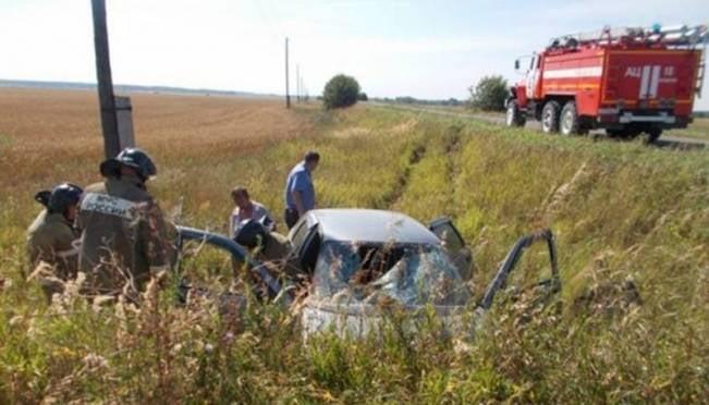 Молодая девушка пострадала в ДТП в Мордовии
