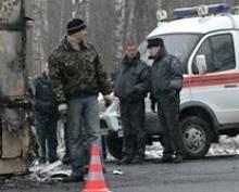 На федеральной трассе в Мордовии в тройной аварии погиб человек