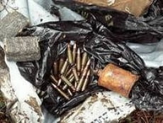 В Саранске обнаружен склад оружия