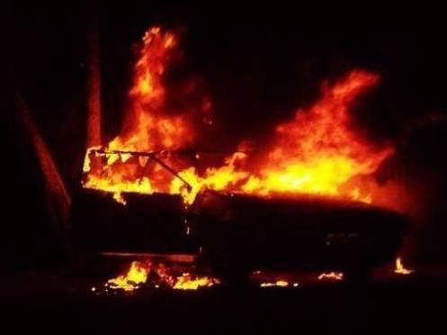 Жителей Мордовии отправили на нары за поджог патрульной машины ГИБДД