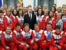 Мордовский лыжник встретился с Владимиром Путиным