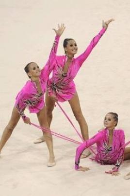 Кубок РМ по художественной гимнастике в групповых упражнениях постер