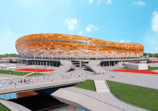 Проект стадиона к ЧМ-2018 в Саранске прошёл госэкспертизу