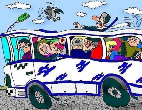 В Саранске автобус «уронил» двух пассажирок