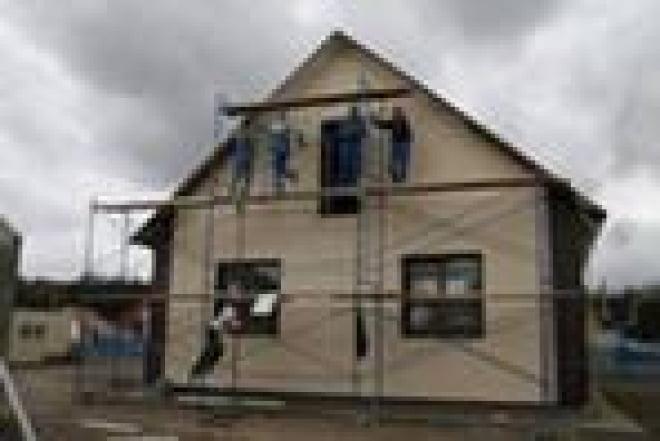 Строительство нового жилья для погорельцев в Мордовии завершилось раньше срока