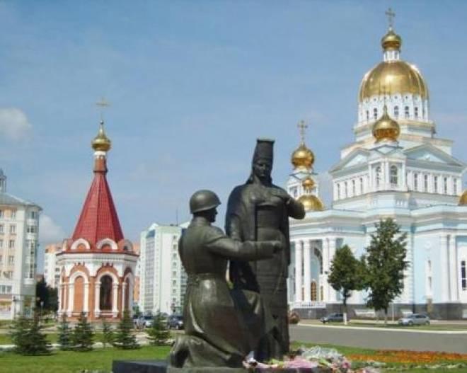 МЧС Мордовии организовало автопробег Саранск-Тула