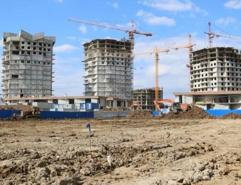 Стройплощадки ЖК «Тавла» усилят техникой и рабочими руками