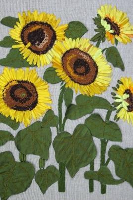 Уют в доме. Женское рукоделие: вышивка, батик, пэчворк, вязание постер