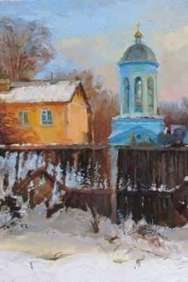 Выставка Оксаны Рощиной-Егоровой постер