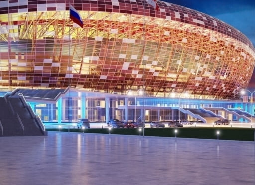 На время ЧМ-2018 стадиону в Саранске не придумали нового названия