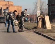В центральной части Саранска стартовала акция «Чистый город»