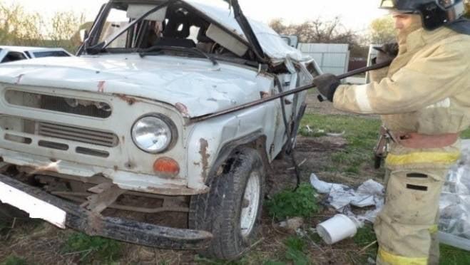 Пенсионер на «УАЗе» в Мордовии улетел в кювет