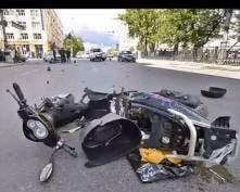 В Мордовии школьник подшофе упал с мопеда