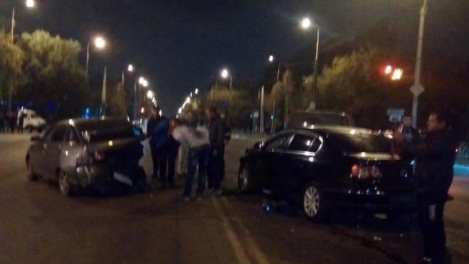 Массовое ДТП в Саранске устроил пьяный водитель «Пассата»