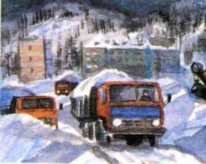 Каждый день с улиц Саранска вывозится 700 машин снега