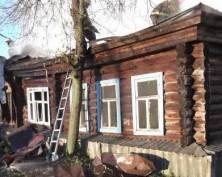 В Мордовии сгорел четырехквартирный жилой дом