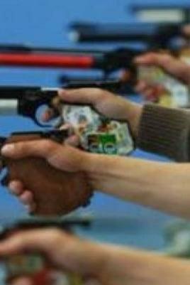 Республиканские соревнования по пулевой стрельбе среди инвалидов постер