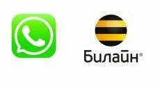 «Билайн» и WhatsApp делают бесплатной передачу данных в России