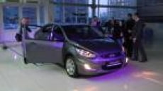 В Саранске прошла презентация авто «Hyundai Solaris»