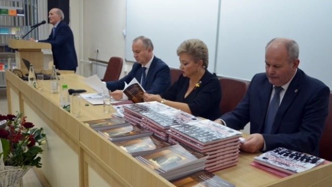 В МГУ им.Огарёва открыли аудитории имени Григория Меркушкина