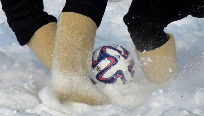 В Саранске будут играть в футбол в валенках и перетягивать канат на ватрушках