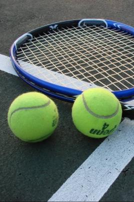 Всероссийский детский турнир по теннису постер