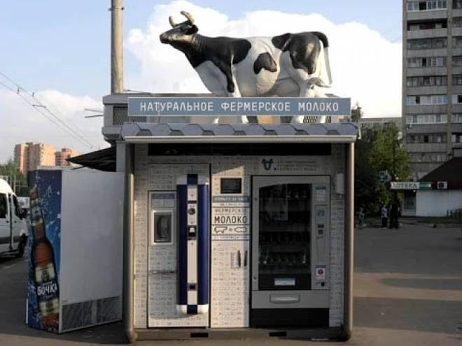 В Саранске появятся молочные автоматы
