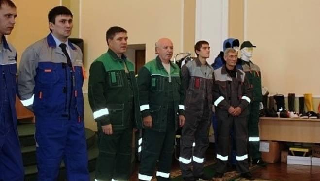 В Саранске презентовали униформу для дворников и водителей