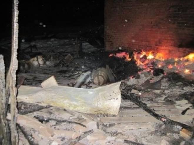 Житель Мордовии погиб при пожаре