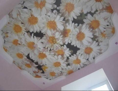 Оригинальные решения в дизайне интерьера – натяжные тканевые потолки