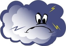 В Мордовии ожидается гроза с сильным ветром