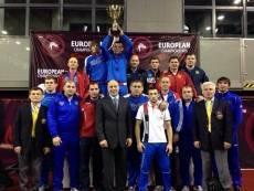 Мордовские борцы трижды поднялись на пьедестал почёта первенства Европы