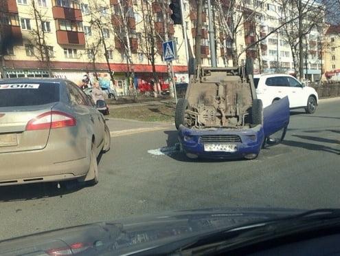 ДТП с участием «Матиза» в Саранске: автоледи ошиблась на перекрёстке