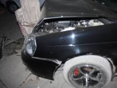 В Саранске «Приора» врезалась в столб: один погиб, двое ранены