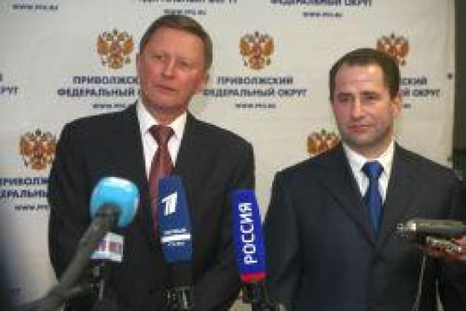 Глава Мордовии принял участие в церемонии вступления в должность нового полпреда президента в ПФО