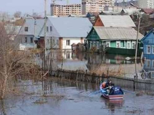 Паводок-2013: в Саранске началось массовое затопление жилых домов