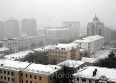 В начале апреля Мордовию может припорошить снегом
